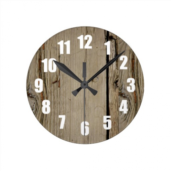 ... use the form below to delete this faux wood decorative wall clock
