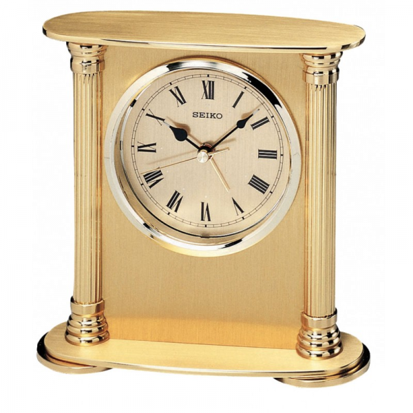 Seiko Executive Column Desk Clock QHE102GL - Arlex Jewelry, Watches ...