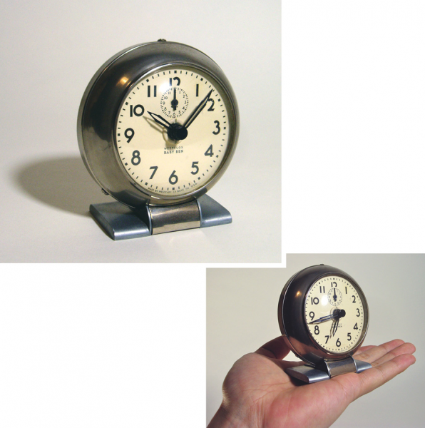 1930's Art-Deco BABY BEN mini Desk Clock - FUNNY SUPPLY