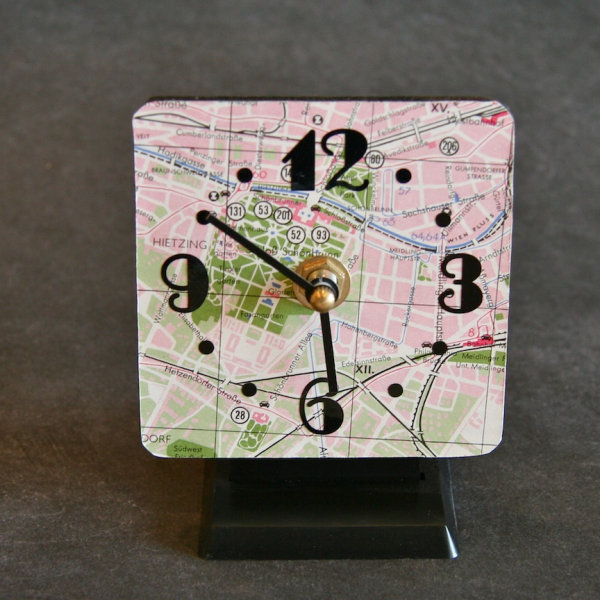 Home / home goods / vintage vienna desktop clock