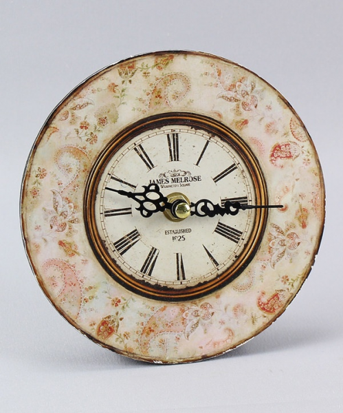 Take a look at this Orange Round Vintage Desk Clock on zulily today!