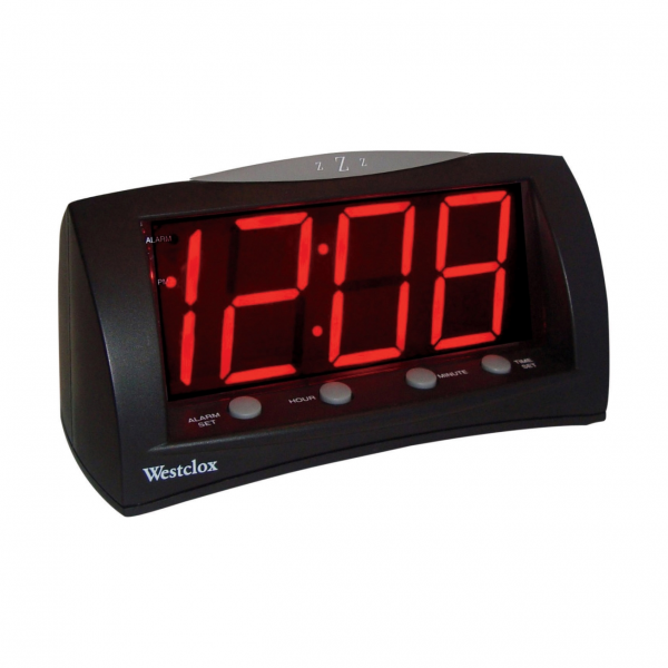 digital atomic alarm clock atomic alarm clocks www top clocks com. Black Bedroom Furniture Sets. Home Design Ideas