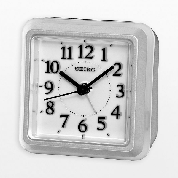 Seiko clocks at Kohl's - This silver-tone clock features a beep alarm ...