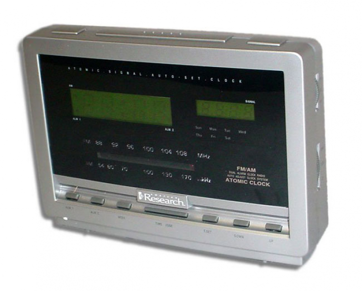 Atomic Clock Radio (Refurbished) - Overstock™ Shopping - Top Rated ...