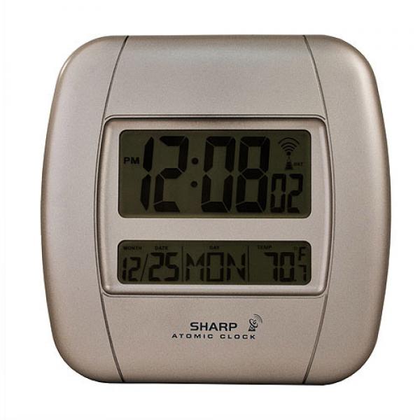 sharp atomic clocks atomic wall clocks www top clocks com