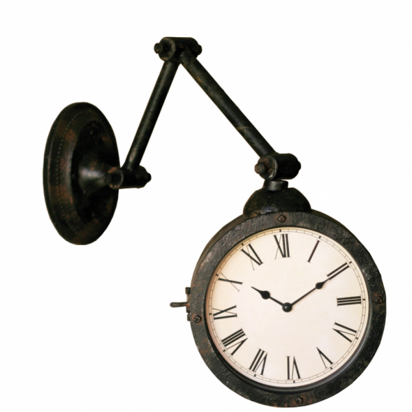 Hinged Arm Wall Clock