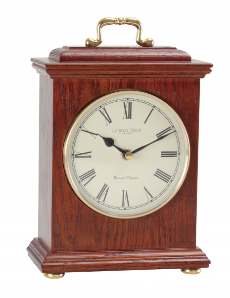 London Clock Company Roman Dial Westminster Chime Mantel Clock ...
