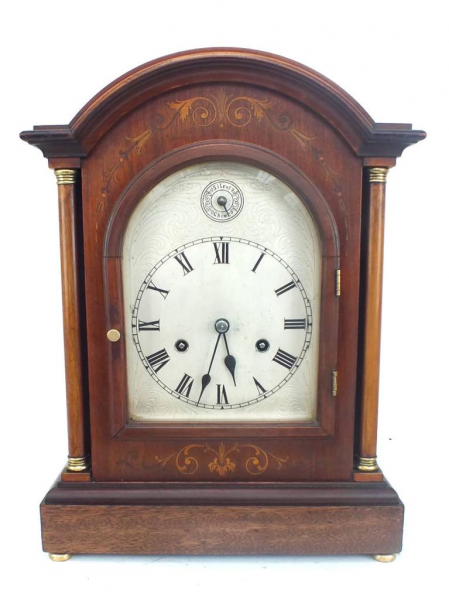 ... -Bracket-Mantle-Clock-3-4-Westminster-Chime-HAC-8-Day-Mantel-Clock