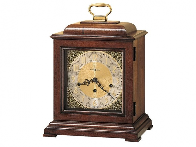 HOWARD MILLER Samuel Watson 612-429 Key Wound 3 Chiming Mantel Clock ...