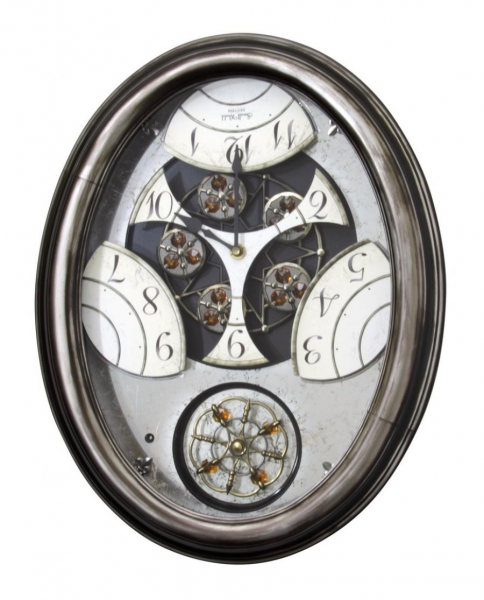 Clockway: Rhythm Wooden Case Musical Wall Clock - GTM2226
