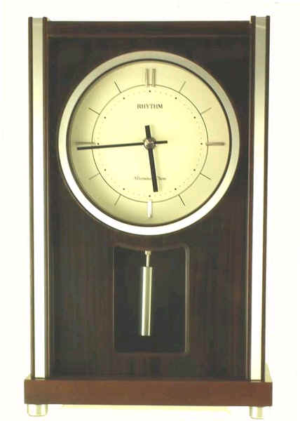 RICHMOND MANTEL RHYTHM SMALL WORLD CLOCK MODEL 4RJA01WU06