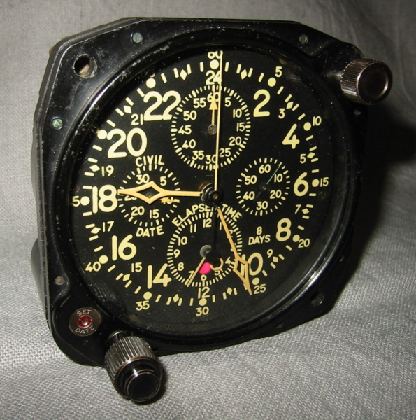 aircraft clock converted to desk clock - MILITARY AIRCRAFT & AVIATION ...