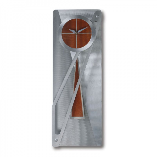 Home Decor Clocks PC1028 Modern Times Pendulum Wall Clock, Aluminum ...