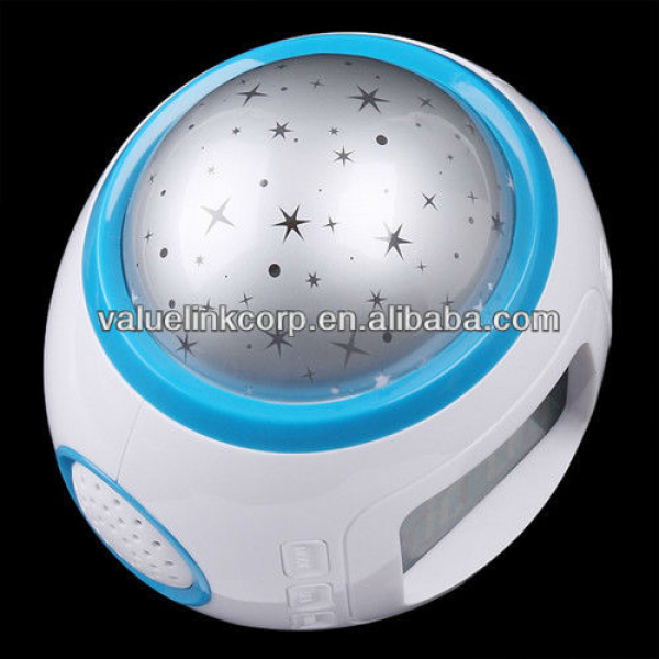 Star Sky Night Light Projection Projector Alarm Clock, View Projector ...