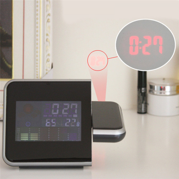New-Brand-Digital-clock-LED-Projector-Projection-Alarm-Clock-Weather ...
