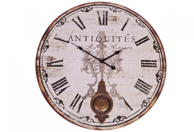 Antique French Wall Clock French antique wall clock