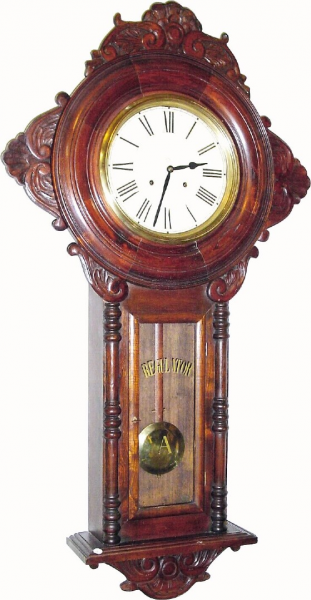 Japanese or Japan Wall Antique Clock