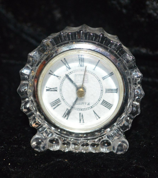 Fifth Avenue Crystal Clock Quartz Movement Fresh Battery | eBay