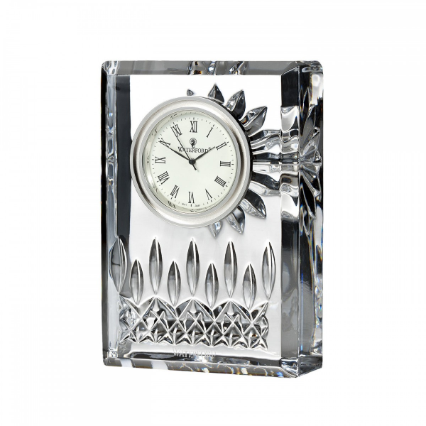 Waterford Lismore Small Clock 10cm - Official Waterford Site