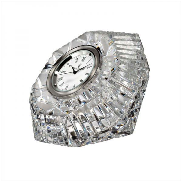 ... WATERFORD CRYSTAL > Waterford Crystal Classic Lismore Diamond Clock