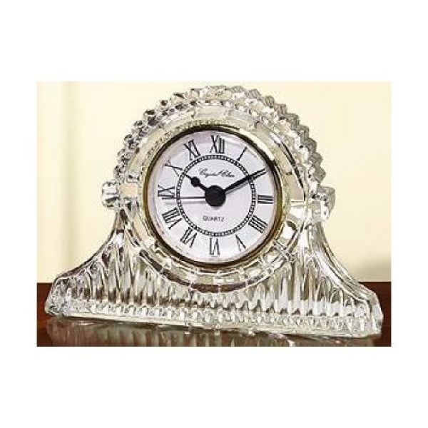 Fifth Avenue Crystal Regal Mantle Crystal Clock