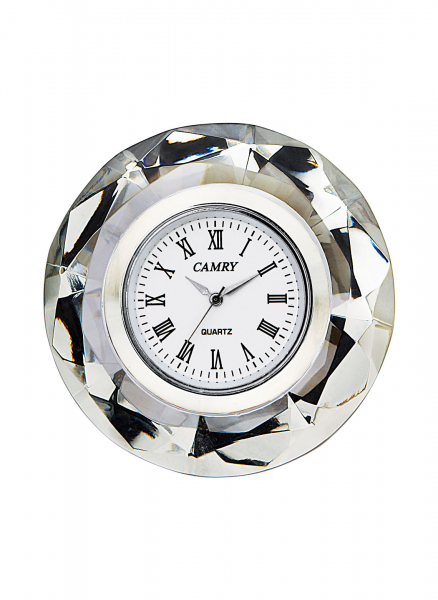 Crystal Table Top Clock Zoom In