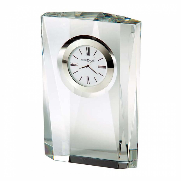 ... Miller Quest Table Clock, optical crystal - 645720 - Pricefalls.com