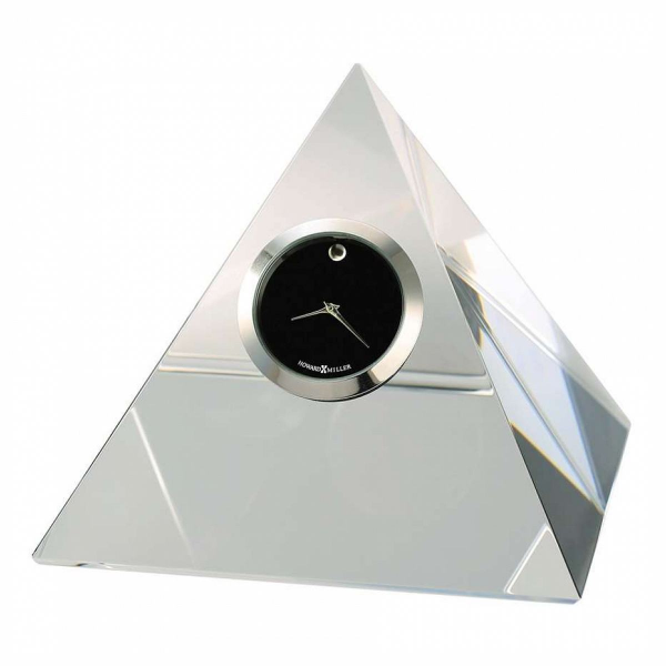... Miller Triumph Table Clock, optical crystal - 645763 - Pricefalls.com