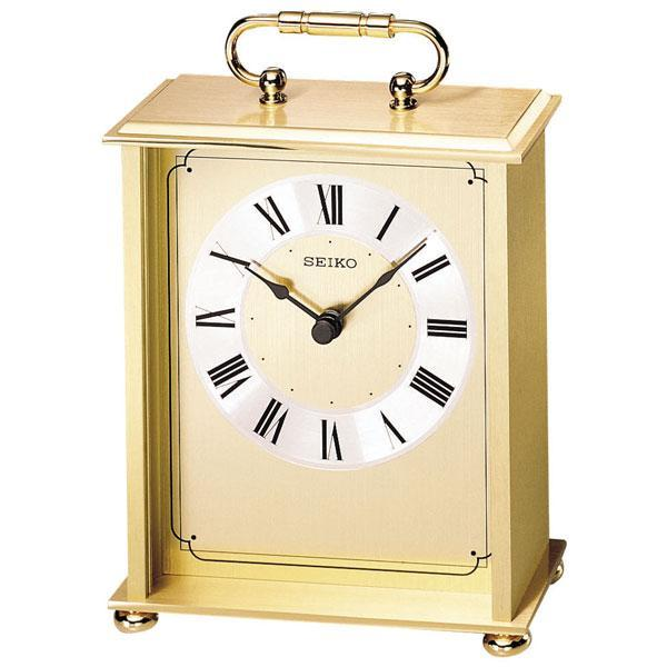 Seiko Mantel Carriage Clock - Item QHG102GL | REEDS Jewelers
