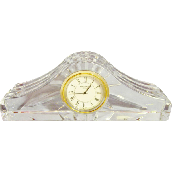 Vintage Waterford Crystal Table Clock - Ashton Pattern from ...