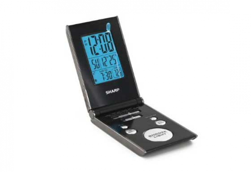 Compact Digital Sharp Alarm Clock SPC303A for Travelling
