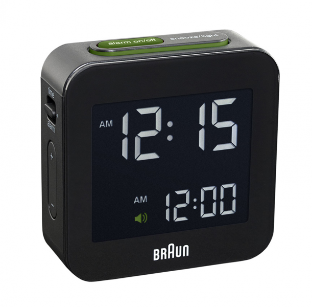 Braun Digital Alarm Clock | SHOP Cooper Hewitt