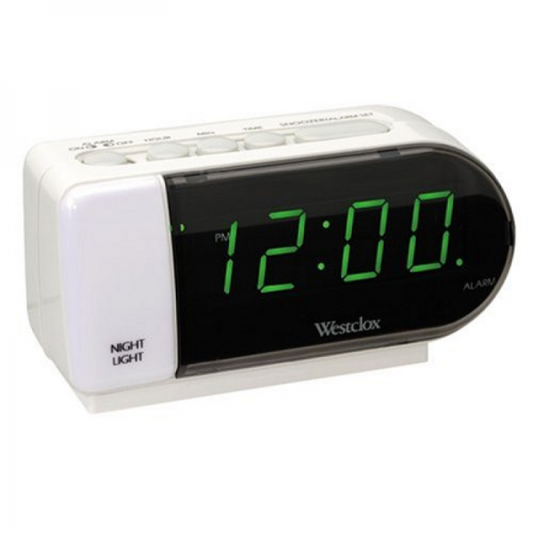 Home » Westclox Tech LED Alarm Clock