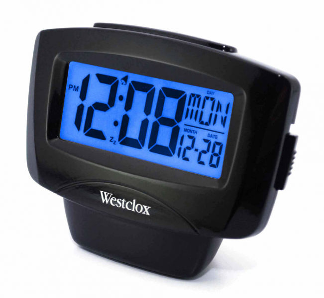 Westclox Digital Snooze Alarm Clock with Calendar 72020 | eBay