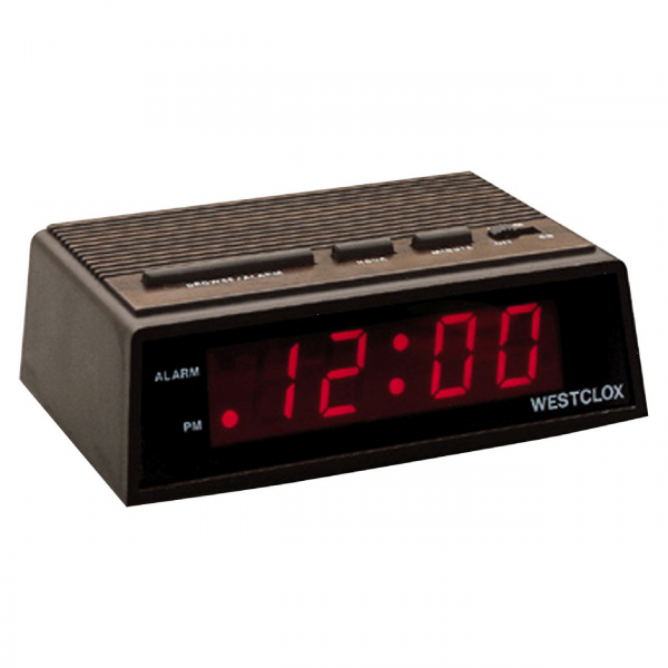Westclox 22690 Startime.6 Inchled Wide Alarm Clock