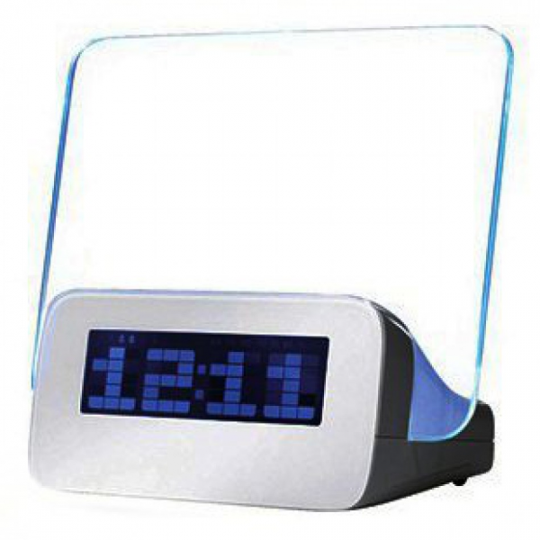 Glowing Magic Message Board LED Digital Alarm Clock Calendar ...
