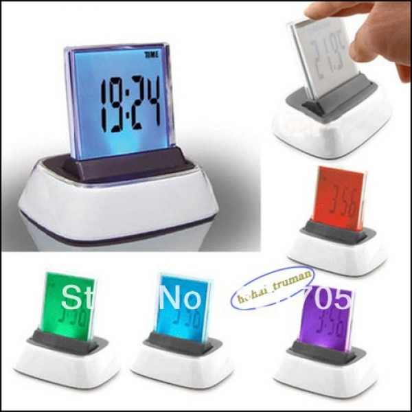 shipping-7-Colors-Change-LED-Desktop-clock-Design-Digital-Alarm-Clock ...