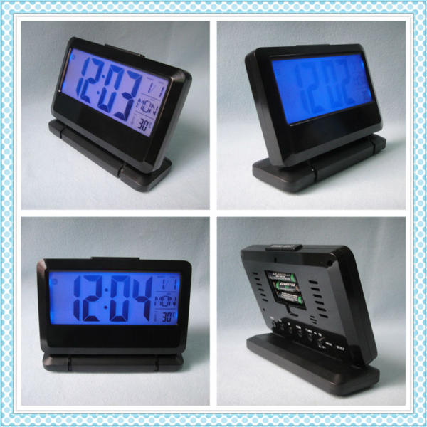 ... clock/Hot selling desktop digital LED backlight alarm clock/New design