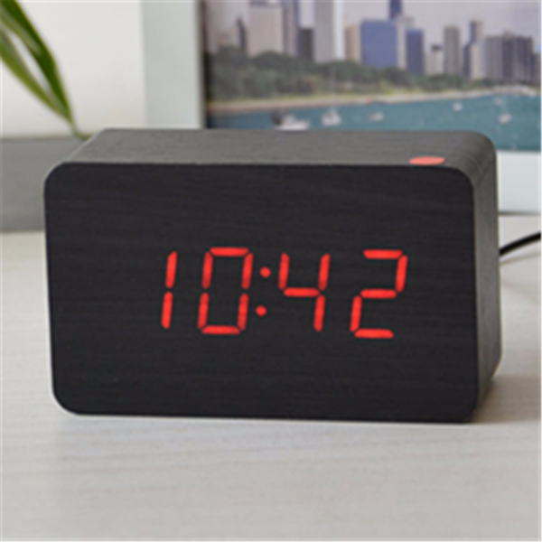 desktop clock small red light night digital alarm clock for kids ...