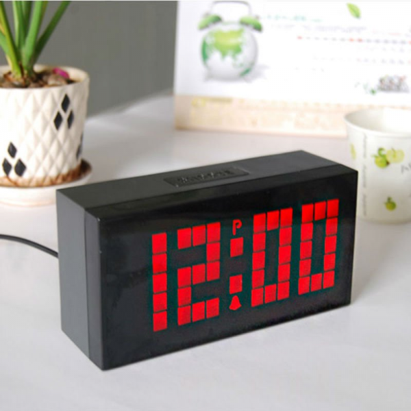 Digital +Thermometer+Calendar+Alarm cool kids alarm clocks-in Alarm ...