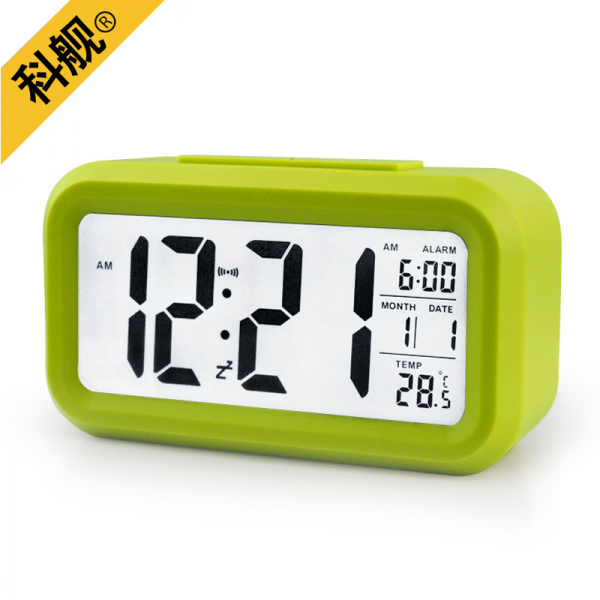 ... alarm clock clock creative mute electronic clock work on children's