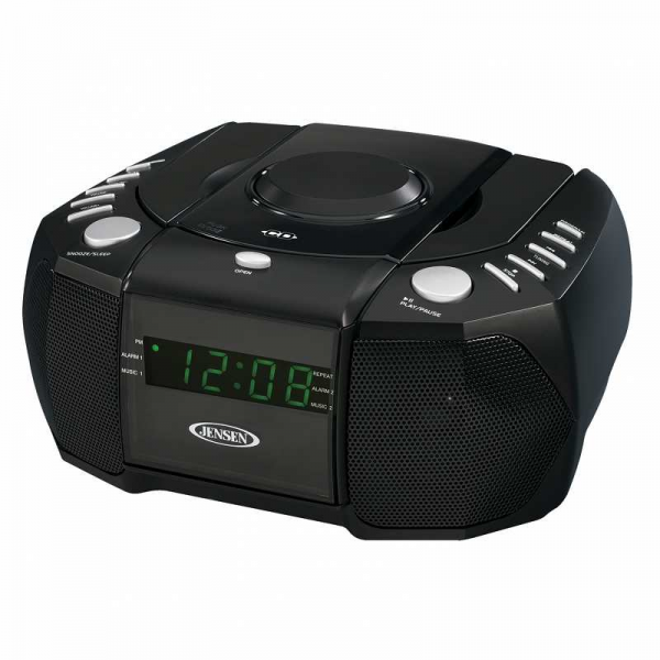 cd player digital tuning alarm clocks digital alarm clocks www top clocks com. Black Bedroom Furniture Sets. Home Design Ideas