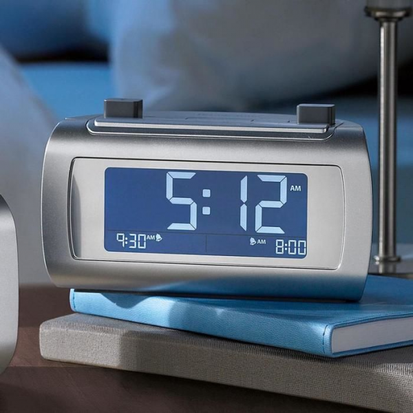 Self-Setting Clocks at Brookstone—Buy Now!