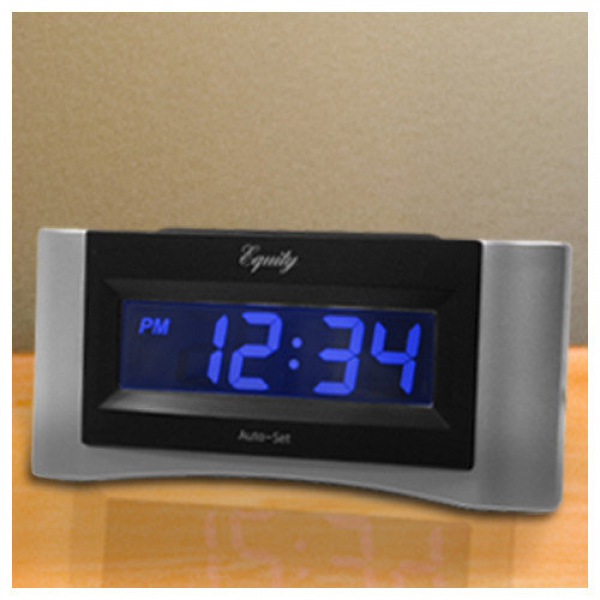 La Crosse Technology Equity Auto-Set Digital Alarm Clock - Walmart.com