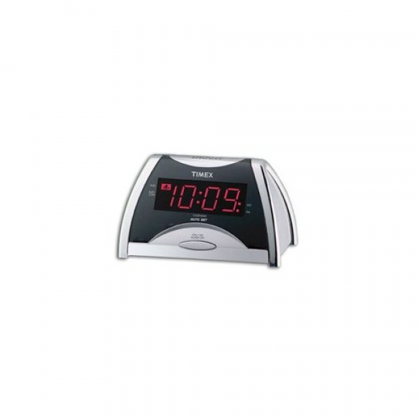 Timex T103S Auto Set LED Digital Alarm Clock Home & Kitchen