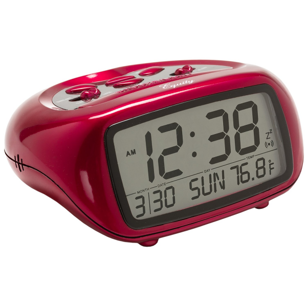 Equity by La Crosse Technology LCD Digital Alarm Clock with ...