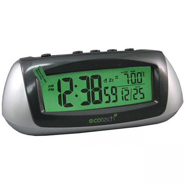 Equity by La Crosse 65903 Solar LCD Alarm Clock - Overstock Shopping ...