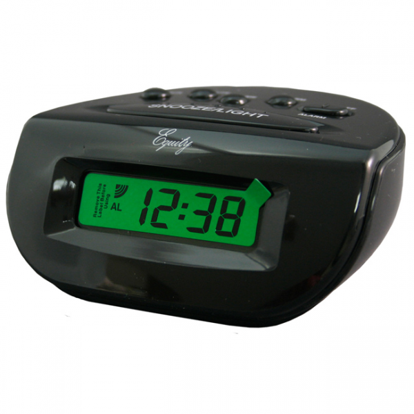 Equity by La Crosse LCD 31003 Digital Alarm Clock - Overstock Shopping ...