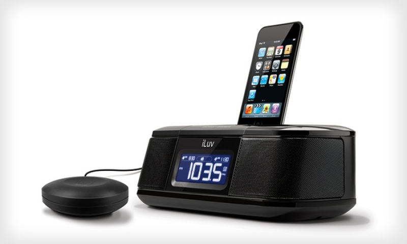 19.99 for an iLuv Alarm Clock with Bed Shaker | Groupon