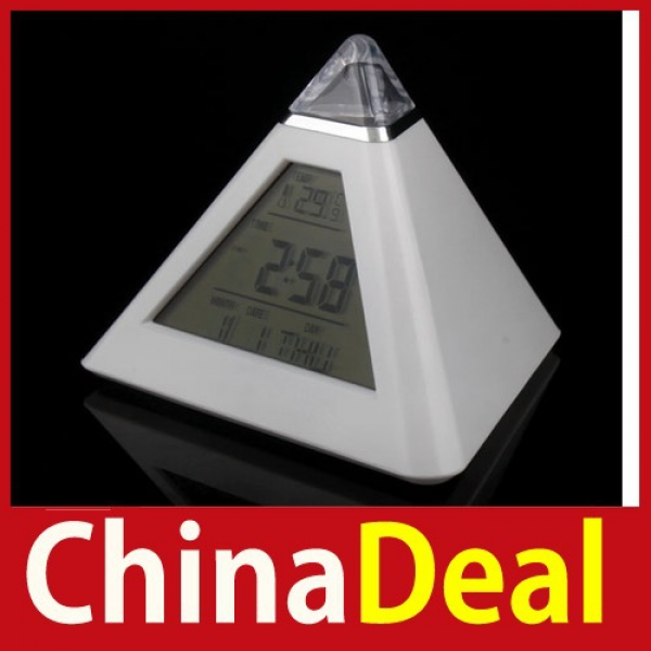 limited-chinadeal-7-LED-Color-Pyramid-Digital-LCD-Alarm-Clock ...
